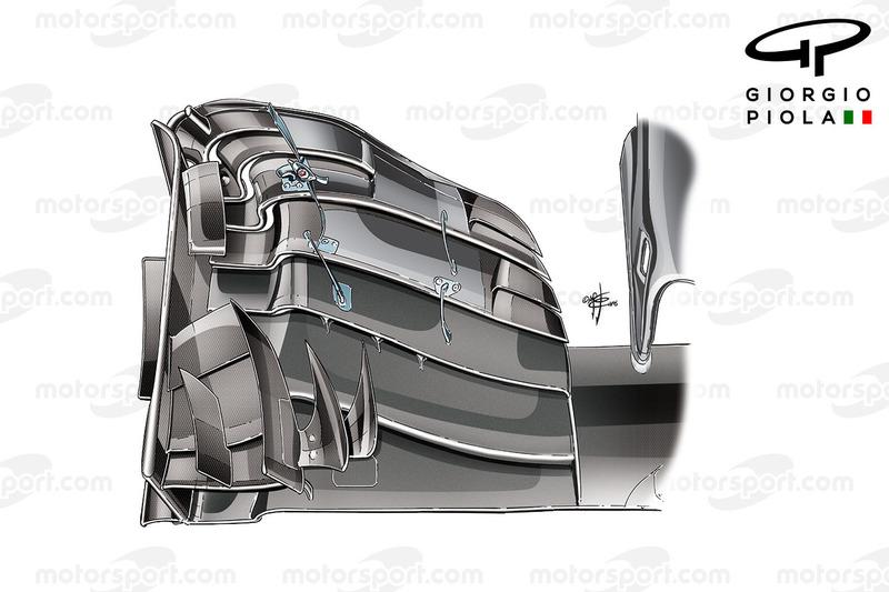McLaren MP4/31 front wing, Hungarian GP