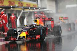 Daniel Ricciardo, Red Bull Racing RB12 y Max Verstappen, Red Bull Racing RB12