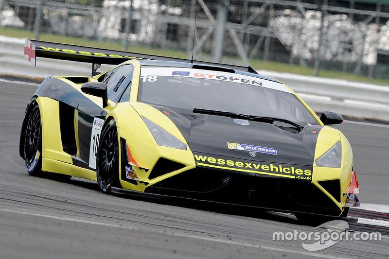 18 Lamborghini Gallardo Rex Gt3 Craig Dolby Tomas Enge At Silverstone