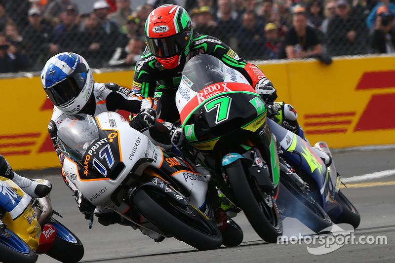 John McPhee, Peugeot MC Saxoprint and Adam Norrodin, Drive M7 SIC Racing Team crash