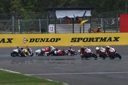 Crash during Asia Dream Cup Race 1