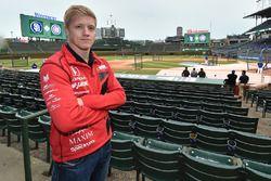 Spencer Pigot, Rahal Letterman Lanigan Racing Honda lanza la primera bola