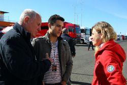 Michela Cerruti, Mulsanne Racing et Loris Hezemans, Baporo Motorsport
