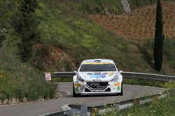 Salvatore Riolo, Alessandro Floris, Peugeot 208 R5 #9