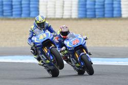 Aleix Espargaro, Team Suzuki MotoGP en Maverick Viñales, Team Suzuki MotoGP
