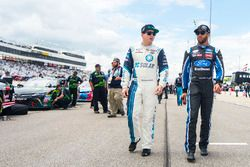 Brennan Poole, Chip Ganassi Racing Chevrolet, Darrell Wallace Jr., Roush Fenway Racing Ford