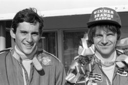 Ayrton Senna and Rick Morris