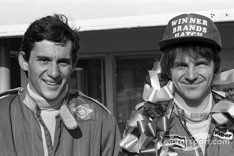 Ayrton Senna y Rick Morris