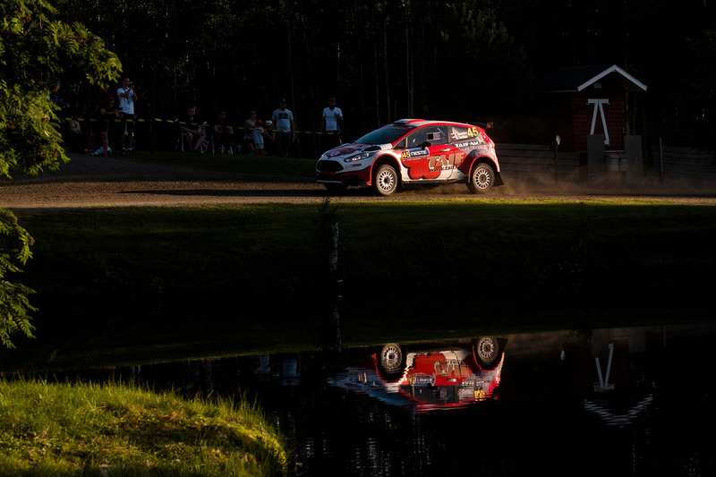 Radik Shaymiev, Maxim Tsvetkov, Ford Fiesta R5