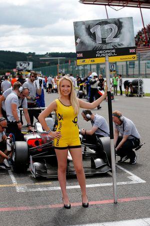 George Russell, HitechGP, Dallara F312 - Mercedes-Benz,
