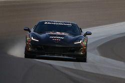 Sam Schmidt in der ARROW-Corvette