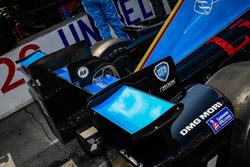 Carlos Munoz, Andretti Autosport Honda rear wing