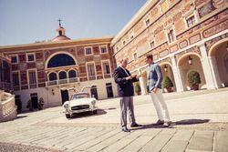 Nico Rosberg et le Prince Albert de Monaco