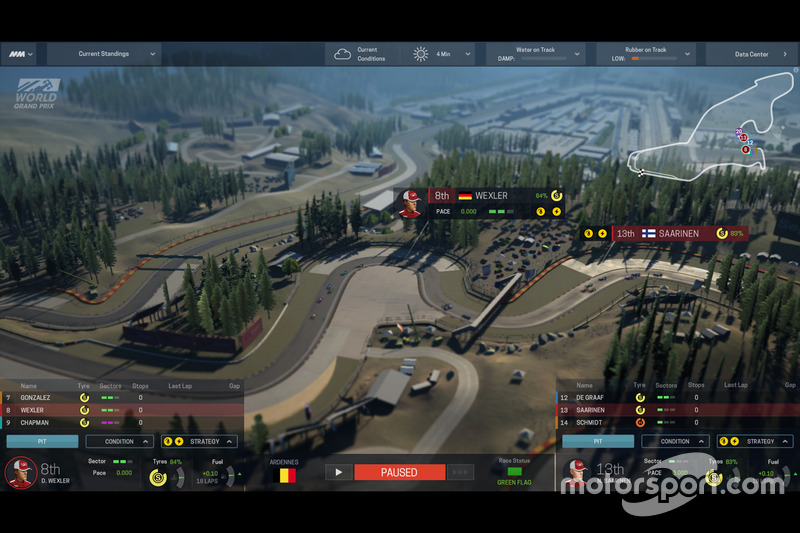 Screenshoot 2016 Motorsport Manager