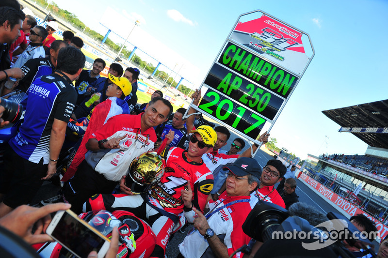 Juara AP250: Gerry Salim, Astra Honda Racing Team