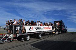 F1 Experiences, tour della pista