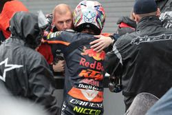 Aki Ajo, second place Niccolo Antonelli, Red Bull KTM Ajo