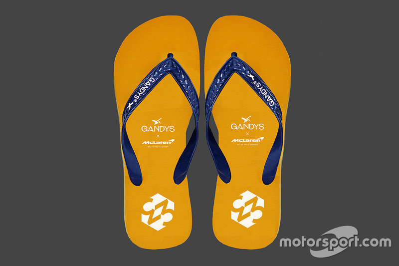 Las chanclas McLaren Gandys