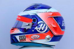 Romain Grosjean, Haas F1 helmet