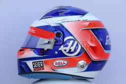 Casco de Romain Grosjean, Haas F1