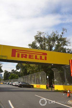 Des panneaux Pirelli