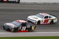 Erik Jones, Joe Gibbs Racing Toyota and David Starr, BJ McLeod Motorsports Chevrolet