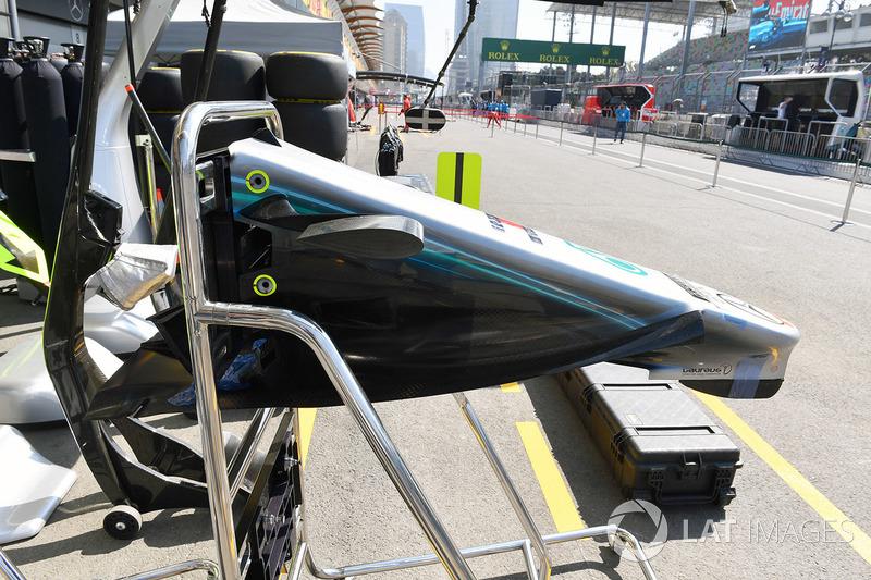Mercedes-AMG F1 W09 EQ Power+ nburun detay