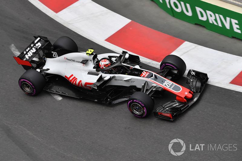 15: Кевин Магнуссен, Haas F1 Team VF-18 – 1:44.759