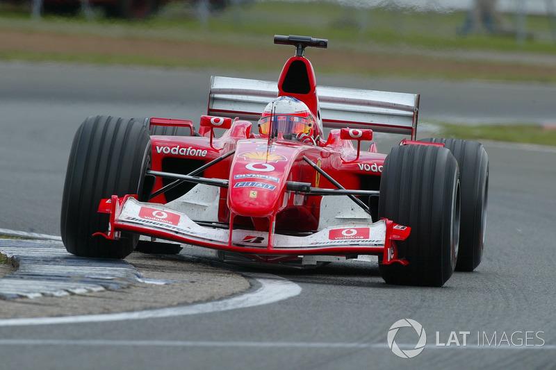 2003 Rubens Barrichello, Ferrari