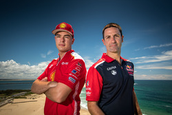 Scott McLaughlin, Team Penske Ford, Jamie Whincup, Triple Eight Race Engineering Holden