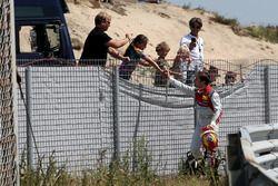Robin Frijns, Audi Sport Team Abt Sportsline con dei tifosi