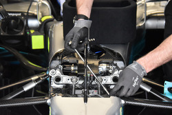Mercedes-Benz F1 W08 detail