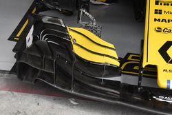 Renault Sport F1 Team RS 18, dettaglio dell'ala anteriore