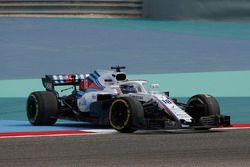 Lance Stroll, Williams FW41 spint