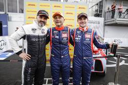 Yvan Muller, YMR Hyundai i30 N TCR, Gabriele Tarquini, BRC Racing Team Hyundai i30 N TCR, Norbert Michelisz, BRC Racing Team Hyundai i30 N TCR