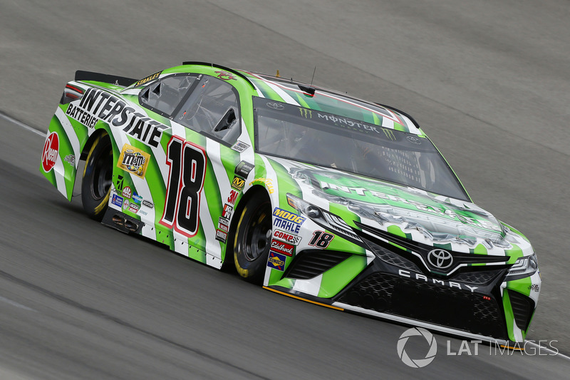 8. Kyle Busch, No. 18 Joe Gibbs Racing Toyota Camry