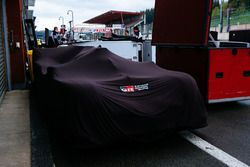 Toyota Gazoo Racing Toyota TS050 under covers