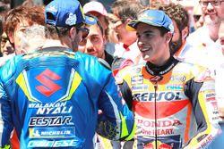 Andrea Iannone, Team Suzuki MotoGP, Marc Marquez, Repsol Honda Team