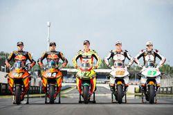 Les pilotes KTM Moto2
