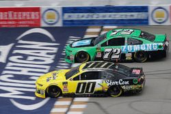 Landon Cassill, StarCom Racing, Chevrolet Camaro StarCom Fiber Corey LaJoie, TriStar Motorsports, Ch