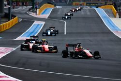 Callum Ilott, ART Grand Prix and Christian Lundgaard, MP Motorsport
