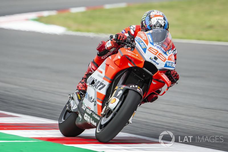 2018: Jorge Lorenzo (Ducati) mit 1:38,680 Minuten