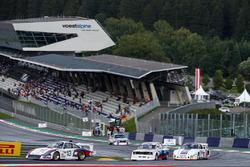 Jochen Mass, Porsche 935, Harald Grohs, BMW 320 y Gerhard Berger, Porsche 935