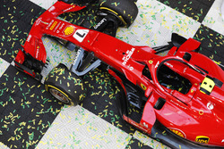 The car of Kimi Raikkonen, Ferrari SF71H