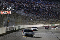 Erik Jones, Joe Gibbs Racing Toyota, takes the checkered flag