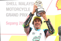 Podium: third place Franco Morbidelli, Marc VDS