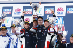 Podium: Winner Cup, #4 Grove Motorsport Pty Ltd Porsche GT3 Cup: Stephen Grove, Brenton Grove, Benja