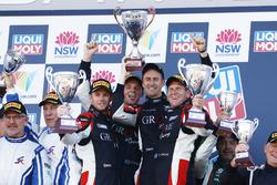 Подиум: Стивен Гроув, Брентон Гроув и Бенджамин Баркер, Grove Motorsport Pty Ltd