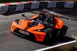 Petter Solberg pilote la KTM X-Bow Comp R