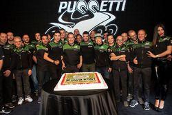 Toprak Razgatlioglu, Hikari Okubo, Manuel Puccetti, Kenan Sofuoglu, Leon Haslam, Kawasaki Puccetti Racing